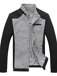 The autumn of 2015 new men's suit jacket thin slim male casual jacket