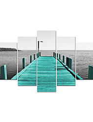 VISUAL STAR®Giclee Sea Landscape Stretched Canvas Printing For Home