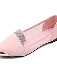Women's Shoes   Flat Heel Pointed Toe Flats Casual Pink/White