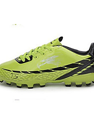 Soccer Unisex Shoes   Green/Orange