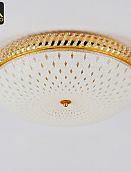 Modern LED Ceiling Lamp 45cm Round With Glass Cover For Bedroom Lighting (035-45)
