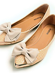 Lovely and Comfortable Bowknot Cusp Shallow Flat shoes