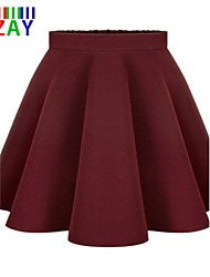 ZAY Women's Casual All Match Pleated Skirt More Colors
