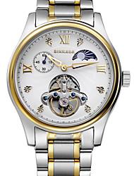 BINKADA Men's Business Steel Band Automatic Mechanical  Wrist Watch(Assorted Colors)