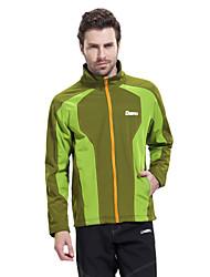 DEEKO Men's Outdoor Soft Shell Warm Windproof Fleece Jacket D404M