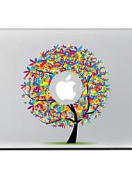 Color The Tree Decorative Skin Sticker for MacBook Air/Pro/Pro with Retina Display