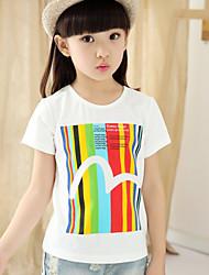 T-shirt Girl Manica corta Estate Cotone