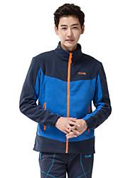 dos homens makino frente-zip casaco de lã outwear 296-1