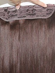 "Full End Virgin Remy Human Hair Clip In Hair Extensions #1 #1B #2 #4 #6 #8 100g/Piece Straight Hair 20""-24"""