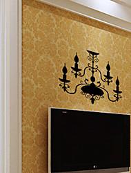 lámpara clásica pvc pegatinas de pared