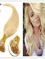 100g / lot 1g / brin droit naturel i lève extension de cheveux