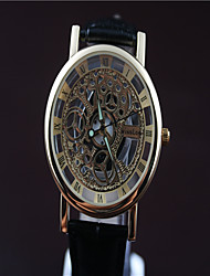 Men Contracted Mechanical Wrist Watch