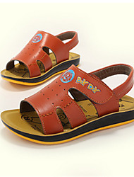 Boys' Shoes Casual Leather Sandals Blue/Brown