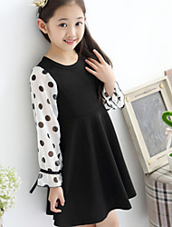 Girl's Lovely Dot Dress