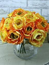 """10.6 """"roses artificielles h de décoration de mariage 2 pcs"""