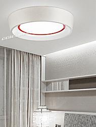 Flush Mount lumière 26W LED Blanc sténopé simple polissage moderne