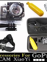 Avec Bretelles / Sacs / Caméra sport / Poignées 1.5 3MP 1024 x 768 Non CMOS 32 Go H.264Espagnol / Japonais / Anglais / Italien /