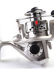 Hot Sale Metal Spinning Sea Fishing Reel Lure SG2000A Round Pole Fish Spinning Reel  5.1:1 GEAR RATIO