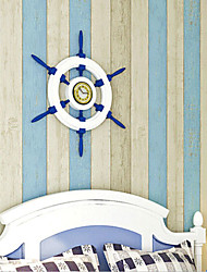 novo arco-íris ™ stripe papel de parede contemporânea azul papel de parede que cobre a arte de não-tecidos da parede da tela
