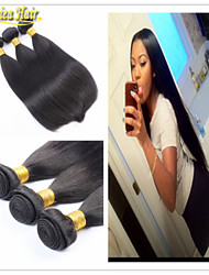 3 PCS/Lot Brazilian Hair Bundles Unprocessed Straight Remy Human Hair Weave 3pcs Virgin Hair Extensions