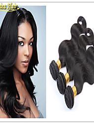 3PCS/Lot Brazilian Hair Body Wave Extension Weft Extensions 3 bundles Body  Unprocessed Virgin Hair Free Shipping