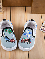 Boy's / Girl's Sneakers Fall Comfort Canvas Casual Blue / Green / Red / White / Navy