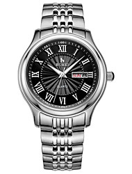 Men's Quartz Waterproof Stainless Steel Waist Watches