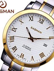 EASMAN Watch Men Gold Luxury Business 21 Jewels Automatic Brand Luminous Watch Mechanical Wristwatches Boss Men Watch