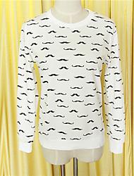 Women's Vinga Sexy Casual Work  Long SleeveT-shirt , Polyester