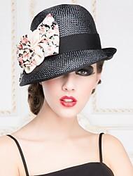 Femme Vannerie Casque-Décontracté / Extérieur Chapeau 1 Pièce