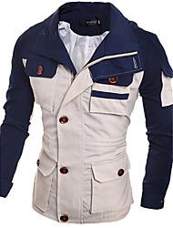 Men's Long Sleeve Jacket , Casual/Work/Sport