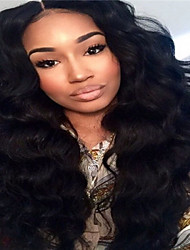 Cheap 100% Brazilian Virgin Human Hair Body Wave Wig Full Lace Wig For Black Women No Shedding No Tangle In Stock