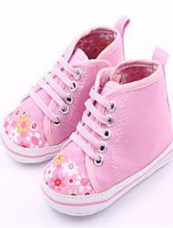 Baby Shoes - Casual - Sneakers alla moda - Tessuto - Blu / Rosa
