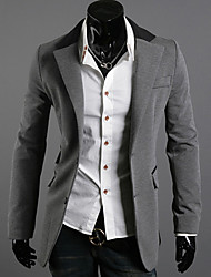 JACK-BOY Men's Crew Neck Coats & Jackets , Organic Cotton Long Sleeve Casual
