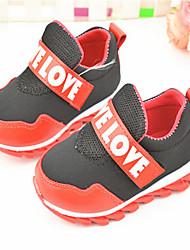 Baby Shoes - Casual - Sneakers alla moda - Tessuto - Blu / Rosso