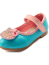 Baby Shoes Casual Faux Leather Flats Blue/Pink