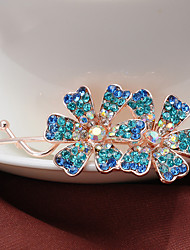 Women's Rhinestone/Alloy Flower Headpiece - Special Occasion/Casual Hair Pin 1 Piece