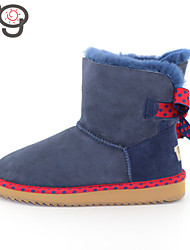 MG Sheepskin Fur Shoes 2015 New Arrival Winter Women Snow Boots