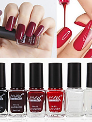 6PCS Healthy Strippable  Water Solubility  Nail Polish 6ml (NO.4)