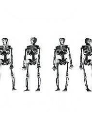 Halloween Plastic Skeleton Frame Hanging Decoration 4 PCS