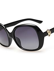 Sunglasses Women's Modern / Fashion Oversized Black / Brown / Dark Red / Purple / Leopard Sunglasses Full-Rim