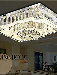 32w Modern/Contemporary LED Glass Flush Mount Living Room / Bedroom / Dining Room / Study Room/Office
