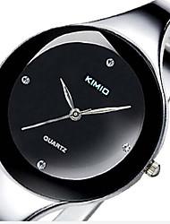 relogios feminino moda Kimio das mulheres relógios em aço inoxidável relógio pulseira de senhoras pulseira relógio