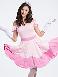 Performance Dresses&Skirts/Headpieces Women's Performance Polyester/Elastic Silk-like Satin Ruched 3 Pieces Pink