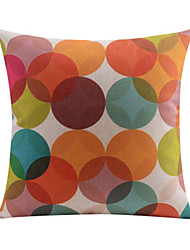 Modern Pots Pattern Cotton/Linen Decorative Pillow Cover