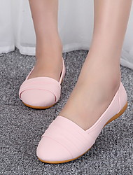 Women's Shoes Flat Heel Round Toe Flats Casual Black/Blue/Yellow/Pink/White