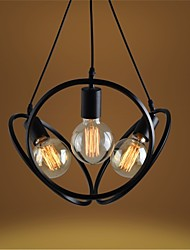 YL Chandeliers/Pendant Lights/Ceiling 3 LED Bulb With Iron Hanging Wire Minimalist Style