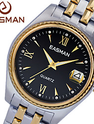 EASMAN Watch Men Brand Big Quartz Watches For Mens Sapphire Steel Men Fashion Wristwatches Designer Luxury Men Watch