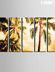 E-Home® Декоративная роспись инсталляция из пяти картин