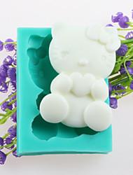 Cat Shaped Fondant Cake Chocolate Silicone Molds,Decoration Tools Bakeware